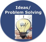 Ideas Problem Solving Icon